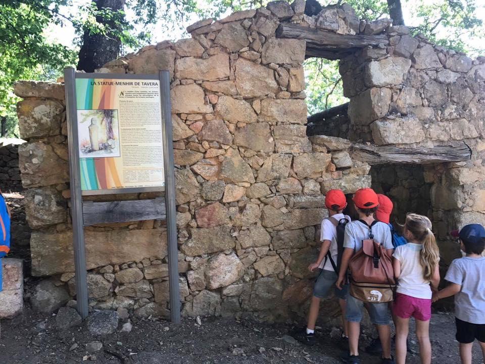 visite du site archéologique TAVERA