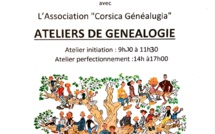 ATELIER GENEALOGIE / MEDIATHEQUE BOCOGNANO